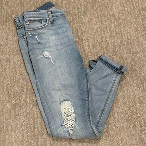 Hudson Midrise Ankle Natalie Jeans
